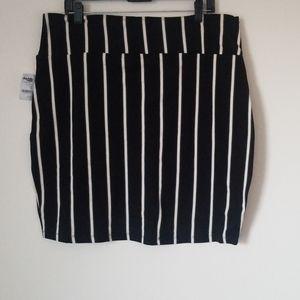 New Charlotte Russe Bodycon Mini Skirt